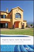 Property Capital Gains Tax Calculator